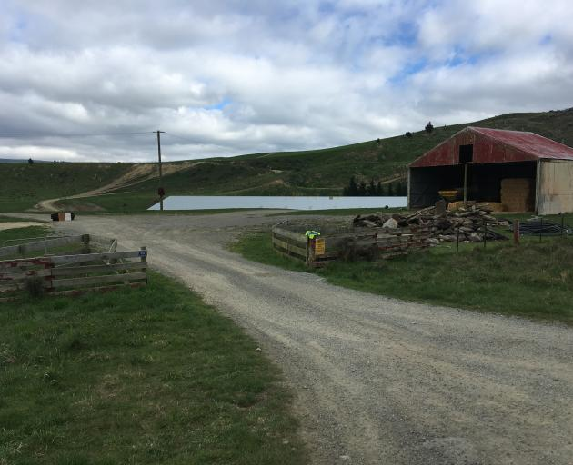 Police are investigating the deaths of a woman and a 3-year-old child at a farm near Dunback. Photo: Daniel Birchfield