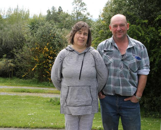 Gore sheep and beef farmers Mark and Vicki Nicholson, who were recently nominated for the Southland Community Environment Awards, have been farming organically for 14 years. Photo: Ashleigh Martin