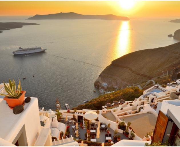 Santorini is always a good idea! Photos: Supplied.