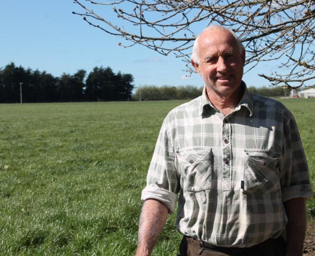 Southland Rural Support Trust chairman John Kennedy at his Winton farm.  Photo: Sharon Reece