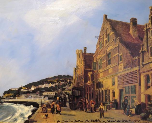 St Clair — Call In the Dutch (After Cornelius Springer), by Janet de Wagt