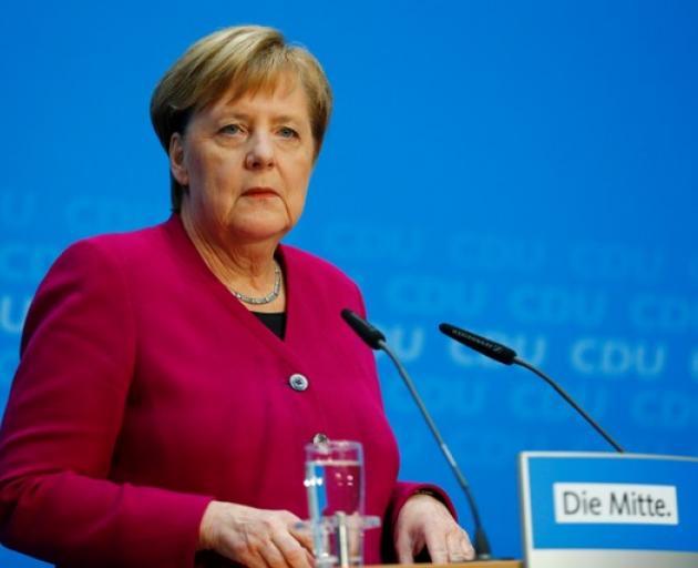 German Chancellor Angela Merkel. Photo: Reuters