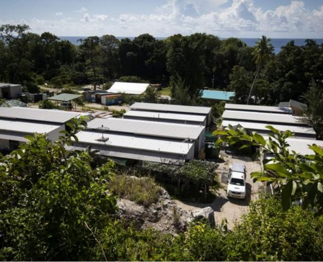 The Nibok refugee settlement Nauru