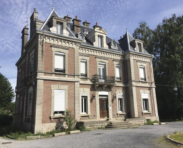 The former mayor's home in Le Quesnoy, about to become a New Zealand War Memorial Museum.PHOTOS:...