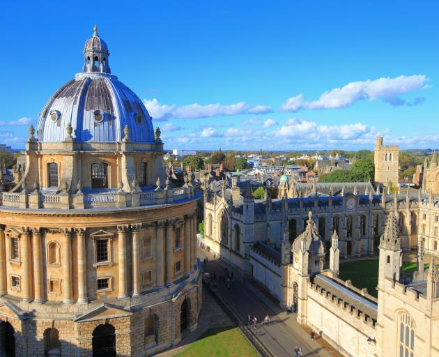 A private education and a degree from Oxford (pictured) or Cambridge are essentially a golden ticket to the top. Photo: Getty Images