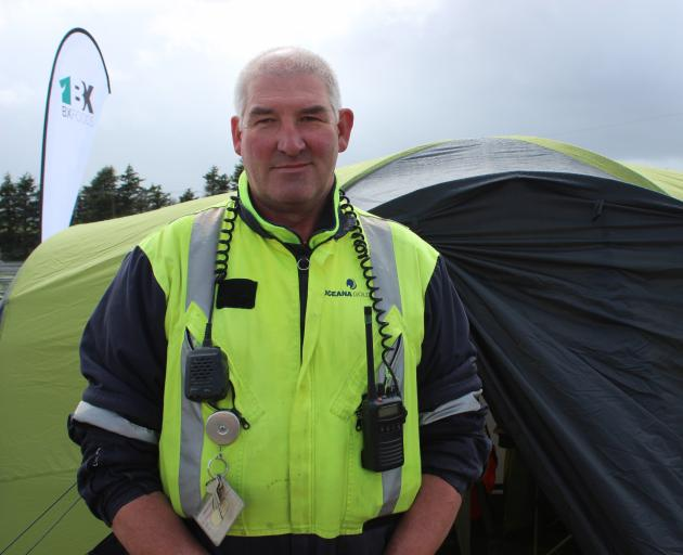 Steve Renton is the emergency response manager at Macraes Mine. He says the response team also does work in the surrounding community. Photo: Ella Stokes