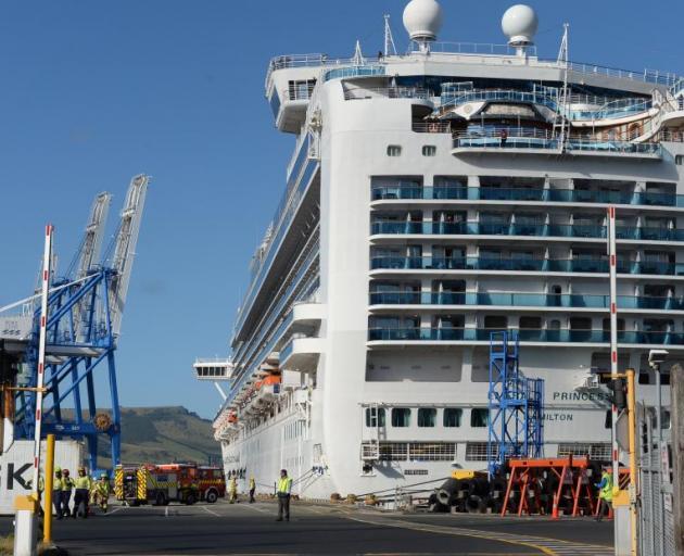 The crewman was killed on board the cruise ship Emerald Princess in February. Photo: Linda Robertson