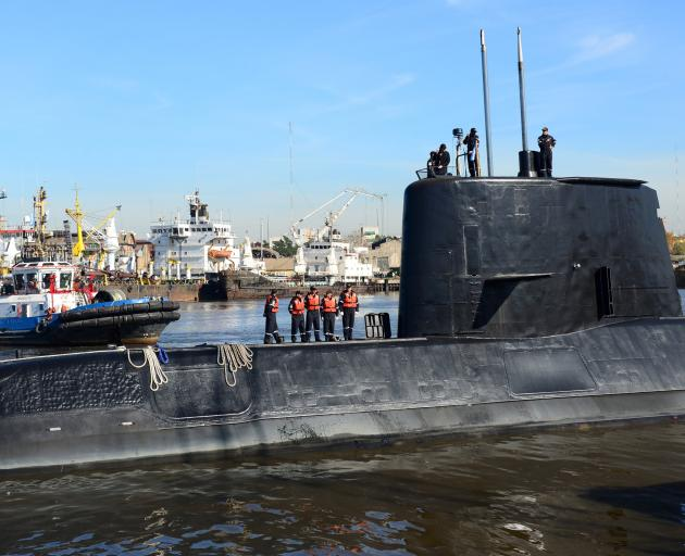 Argentine sub found partially 'imploded' after yearlong search