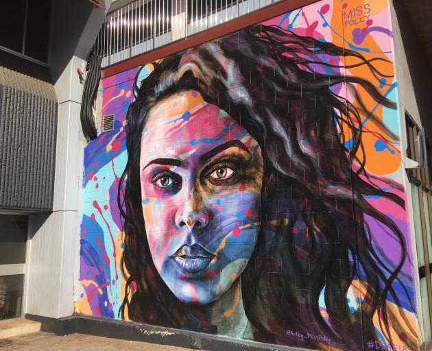 Street art in Darwin. PHOTO: PAM JONES