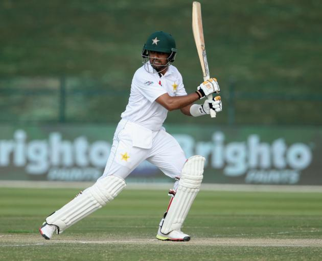 c3e2536781d Barbar Azam of Pakistan bats during day three of the Second Test match  between Australia and