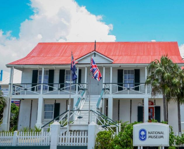 The Cayman Islands National Museum.