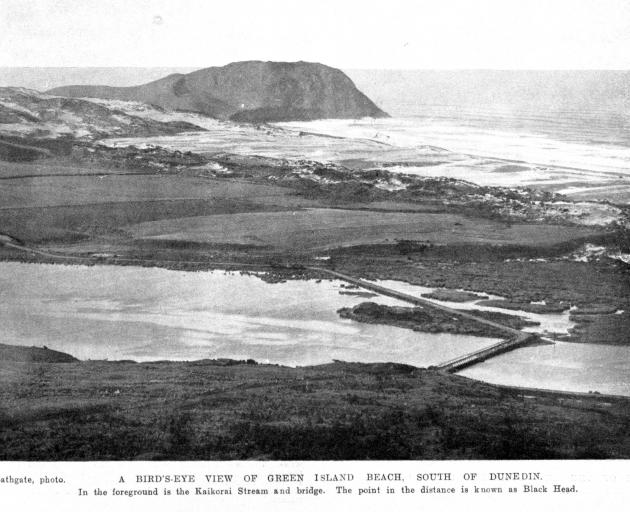 Blackhead as it appeared in the Otago Witness 109 years ago. Photo: ODT files
