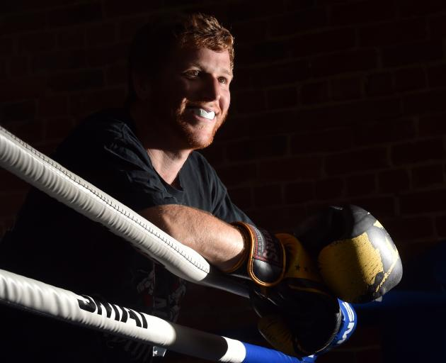 Dunedin boxer Michael Pascoe reflects on his upcoming bout against Josh Hatherley. Photo: Peter McIntosh