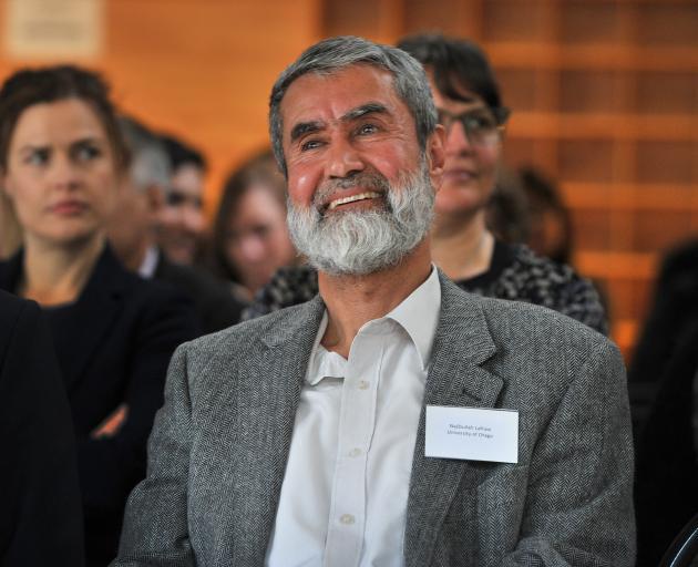 Former Afghani refugee Najibullah Lafraie. Photo: Christine O'Connor