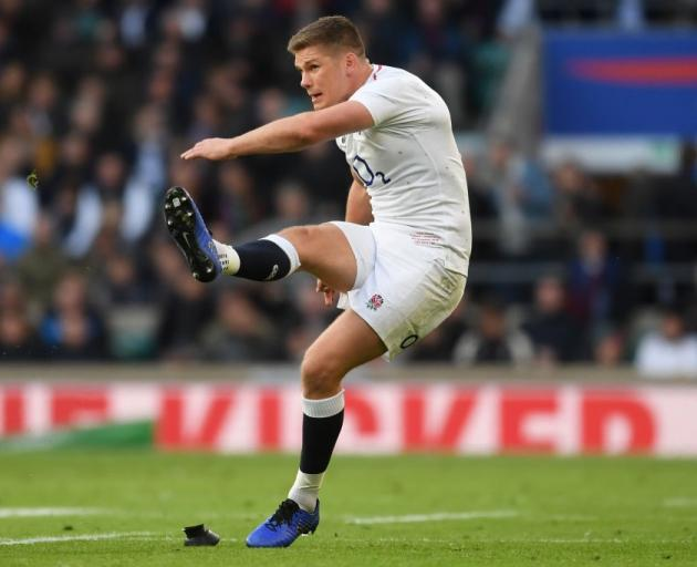Owen Farrell will be a key player for England in this weekend's game against the All Blacks....