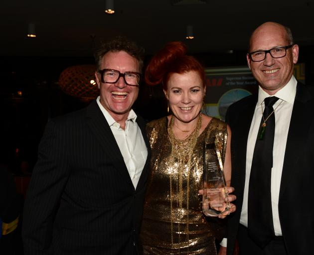Representing Supreme Business of the Year Award winner Cardrona Alpine Resort are (from left)...