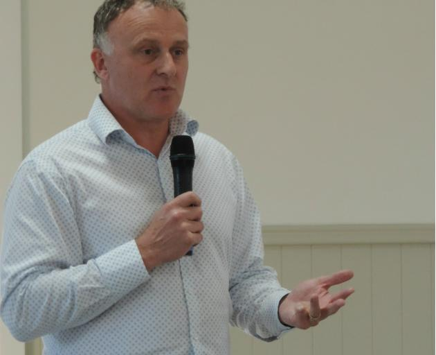 Ministry for Primary Industries' Mycoplasma bovis director Geoff Gwyn. Photo: Toni Williams