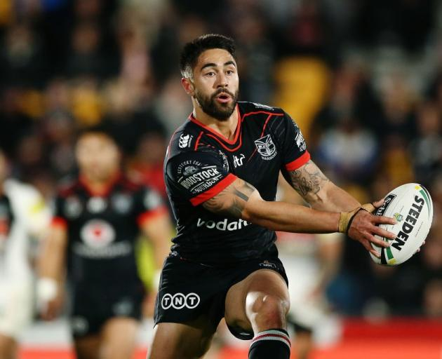 Shaun Johnson is already being lured to the Sharks by a club great. Photo: Getty Images