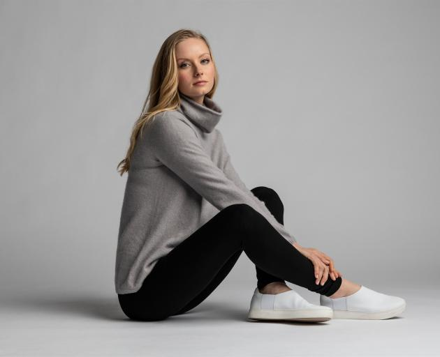 A jumper created from New Zealand grown and processed cashmere fibre.