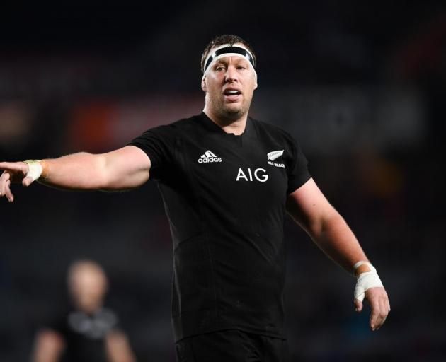 Wyatt Crockett in action for the All Blacks last year. Photo: Getty Images