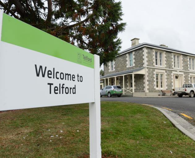 Telford, a division of Lincoln University, near Balclutha. Photo: Peter McIntosh