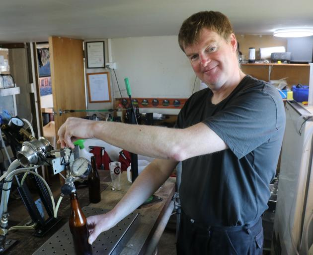 Catlins Brewery director and head brewer Norman MacLeod has applied for an off-licence for his business. Photo: Jack Conroy
