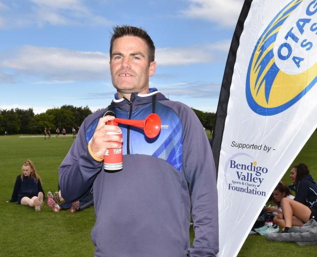 Grant Milne will sign off from his job as the Otago Touch Association's development officer after a decade with the organisation. Photo: Gregor Richardson