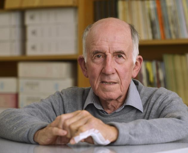 Prof Charles Higham, who joined the University of Otago anthropology department in the 1960s. Photo: Gerard O'Brien