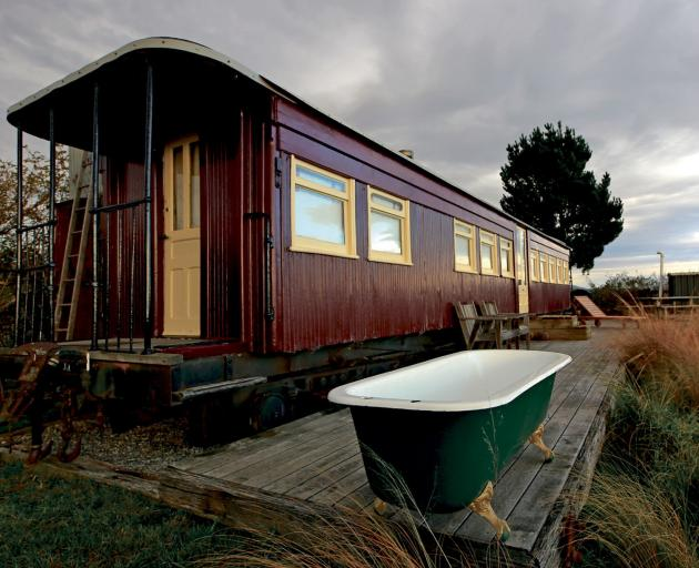 The exterior and interior of this lovingly-restored carriages have so much character. Photos:...