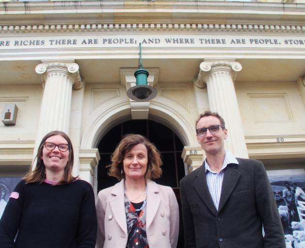 North Otago Museum curator Chloe Searle, Forrester Gallery, Waitaki District Archives and museum...