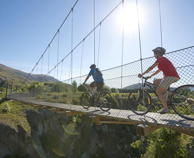 The Queenstown Trail has been mapped by Google over the last few weeks. Photo: ODT files