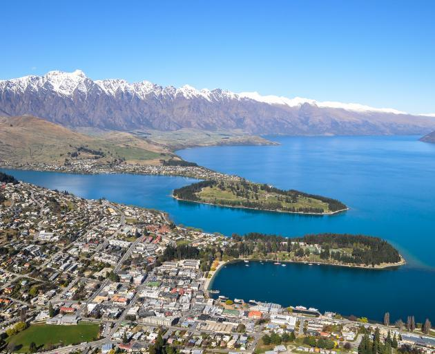 The Queenstown Lakes area is the least affordable in New Zealand, official figures show. Photo:...