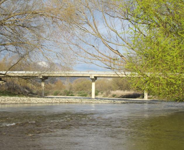 Aquatic habitat ... The Lindis River in spring flow. PHOTO: ODT FILES