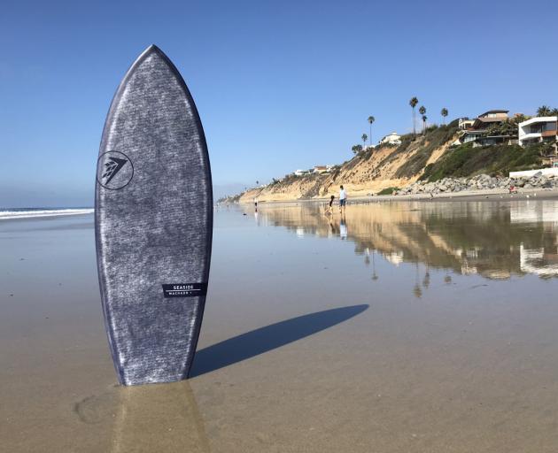 The Firewire Surfboards Woolight surfboard.