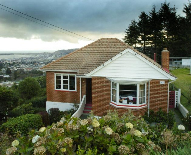 One of Dunedin's original state houses, in Hislop St, Pine Hill. PHOTO: GERARD O'BRIEN