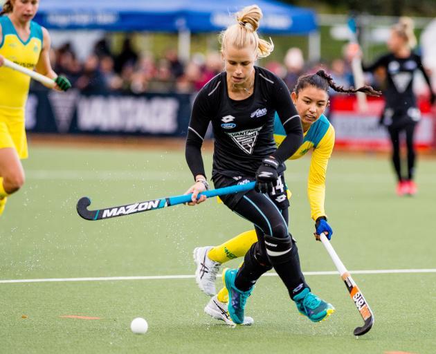 Black Sticks Michaela Curtis & Kristina Bates , Black Sticks Women Vs Australia, Tri Nations...