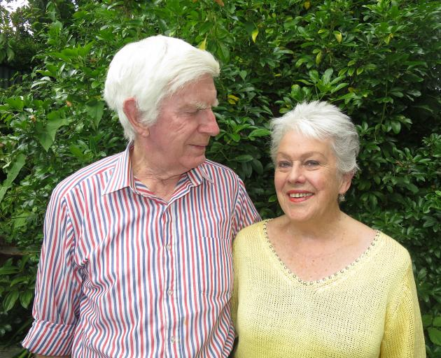 Warren and Lorraine Cooper celebrate their 60th wedding anniversary today. Photo: Philip Chandler