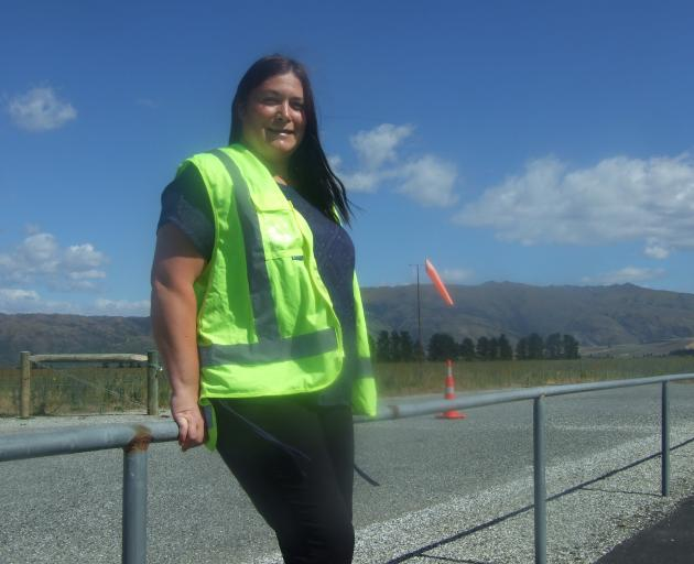 Central Otago District Council  property and facilities officer Tara Bates at the Alexandra...