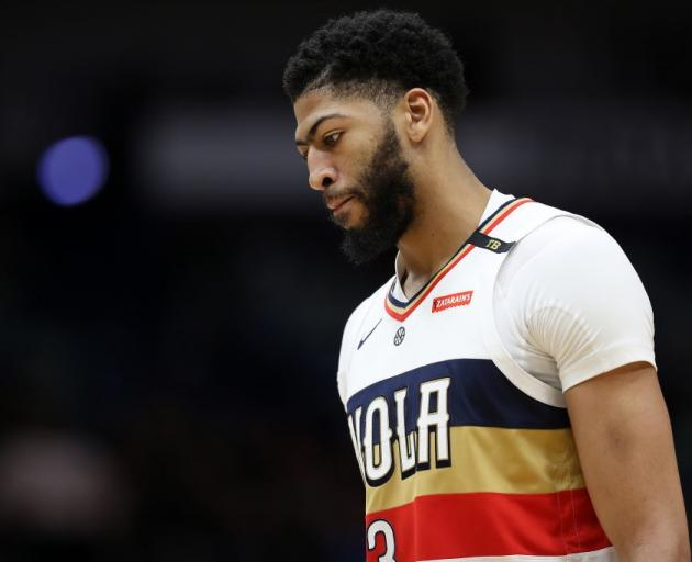 Anthony Davis has requested a trade from New Orleans. Photo: Getty Images