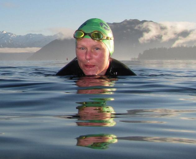 "Claire O'Connell: ""I call the Sunday swimming my prayer morning."" Photo: supplied"