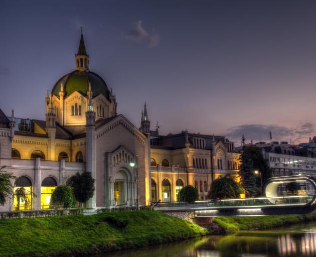 The Sarajevo Academy of Fine Arts. Photo: Getty Images