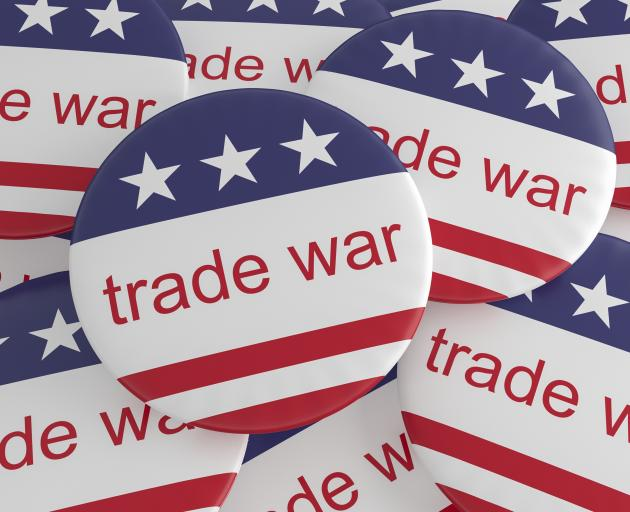 The United States-China trade war is one of the external threats to New Zealand's economy this...