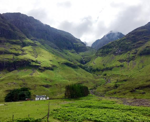 One of the most famous drives through Scotland is the route through historic Glencoe.