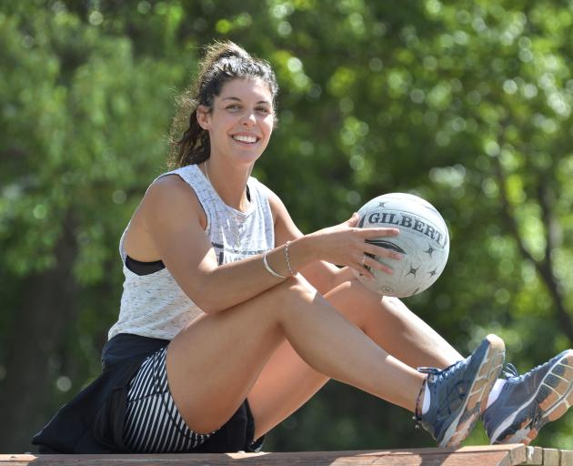 Dani Gray's recovery from a serious knee injury during last year's ANZ Premiership is going well. Photo: Gerard O'Brien