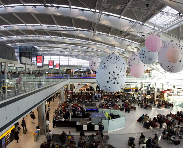 London's Heathrow Airport. Photo: Getty Images