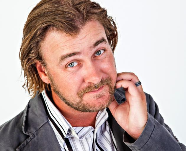 Comedian Jeremy Elwood is an Otago Boys High School Old Boy. Photo: Supplied