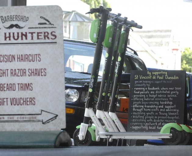 As Lime e-scooters are considered vehicles they do not require a permit to be placed on Dunedin's...