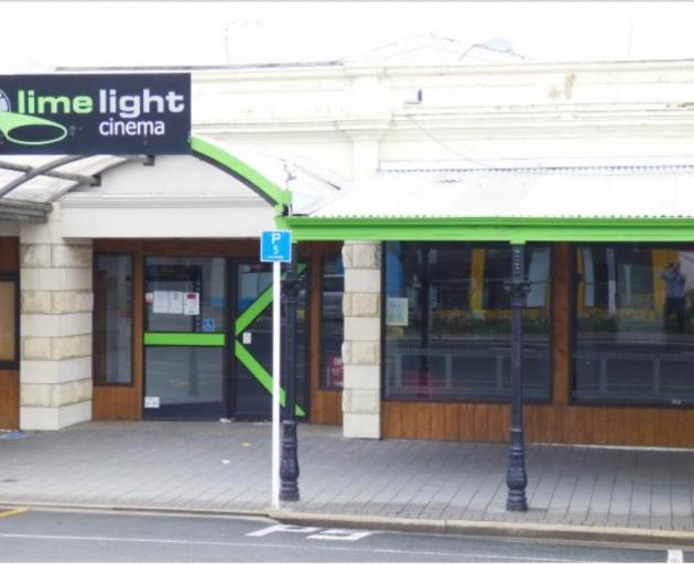 Limelight Cinema in Oamaru. Photo: Spivey Real Estate