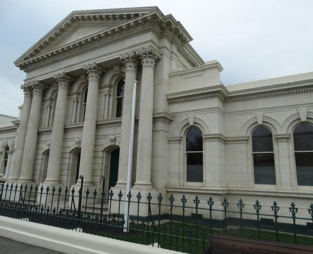 Court services may return to the Oamaru courthouse in lower Thames St early next year. Photo:...