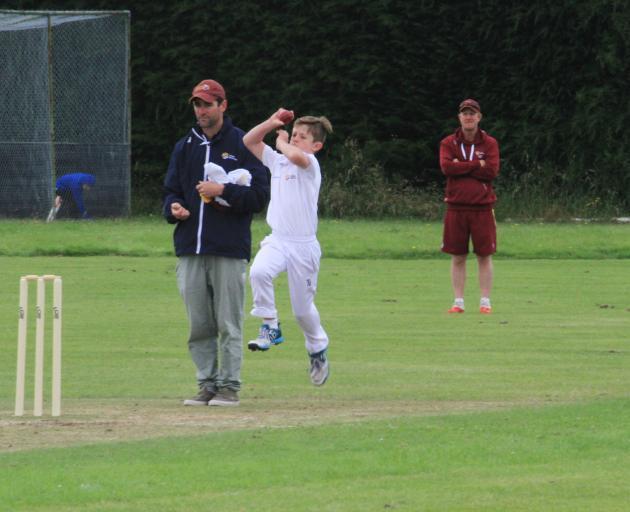 Lloyd Fellowes in action. Photos: Hamish MacLean